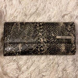 Kenneth Cole reaction snakeskin wallet